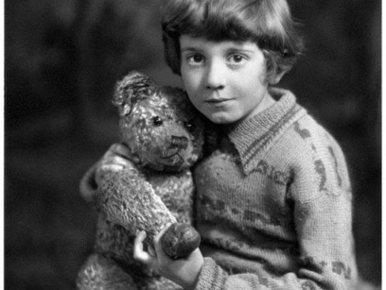 "True Christopher Robin from ""Winnie-The-Pooh and All, All, All"""