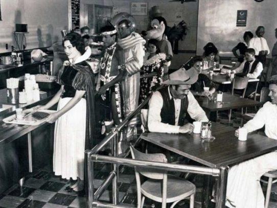 Disneyland staff canteen, 1961