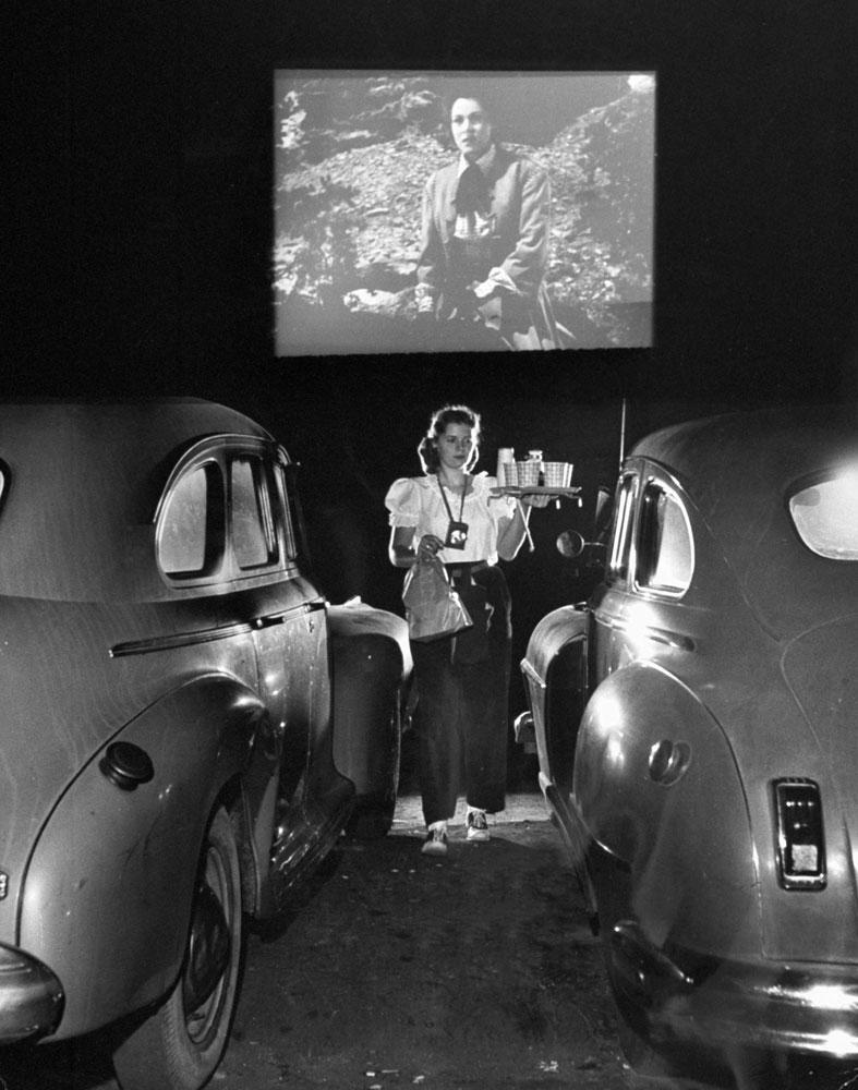 drive in theatre 1940s