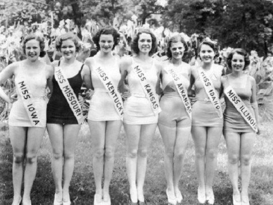 Miss America 1933 Contenstants