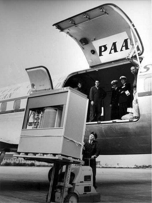 retro photo of a hard disc drive