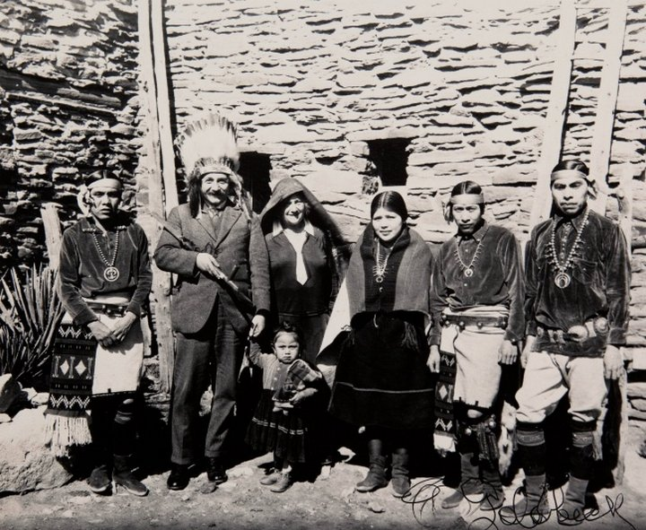 vintage photo of Einstein