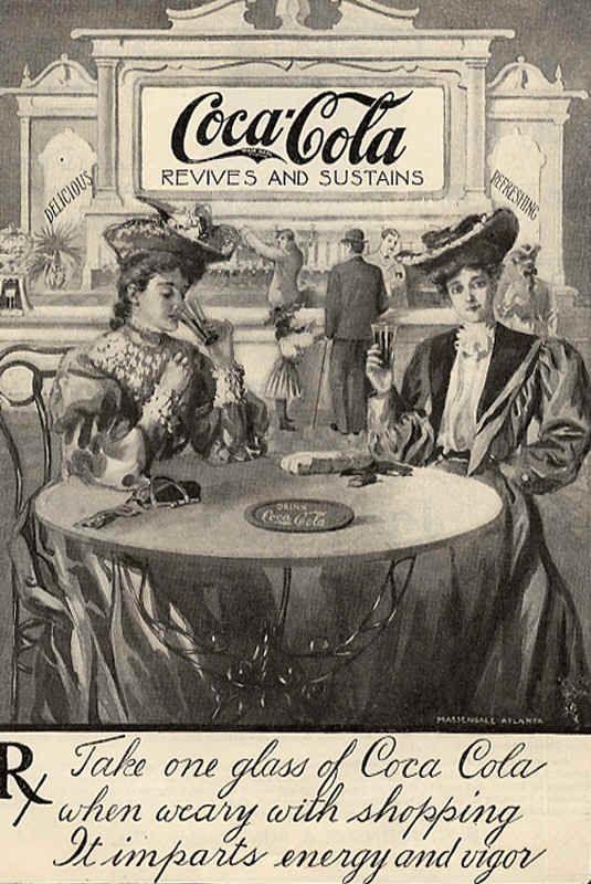 Retro Coca-Cola ads - Old Pictures
