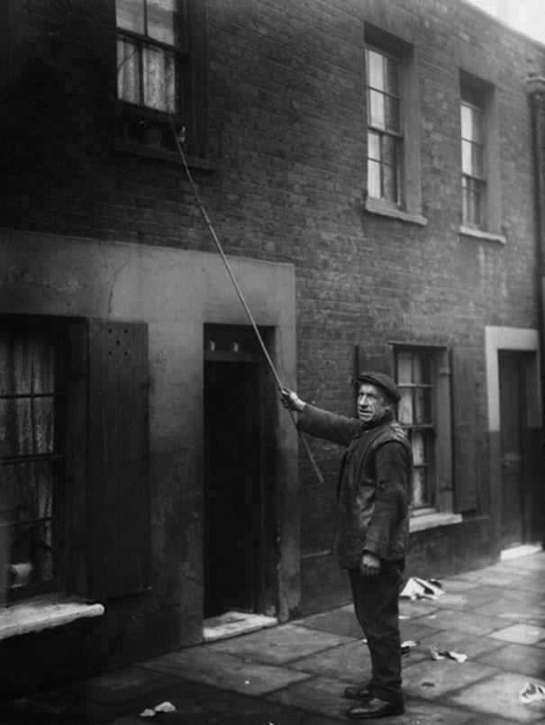 vintage photo of a job extinct