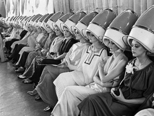 Soviet hair salon, 1970s
