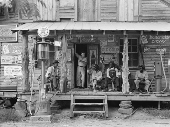 A Country Store in Gordonton, North Carolina, 1939