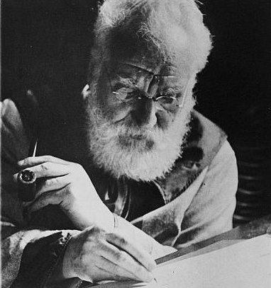 Alexander Graham Bell, Washington, D.C., 1913