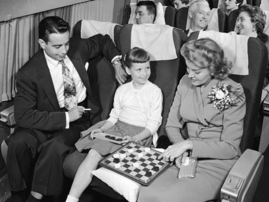 "The ""Golden Age""of air travel. What would your trip be like?"