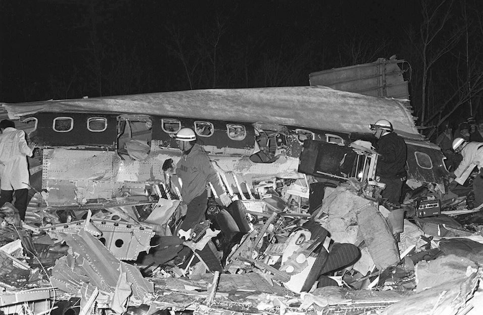 Old photo March 1966 plane crash