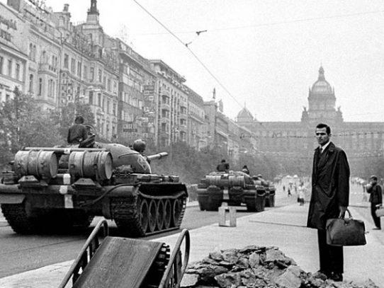 Soviet invasion of Czechoslovakia, Prague, 1968