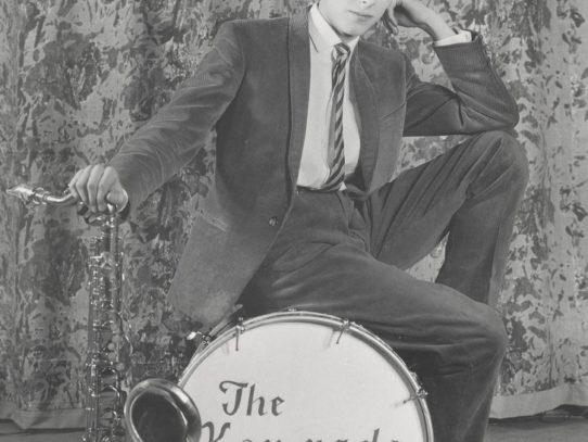 David Bowie at the age of 16