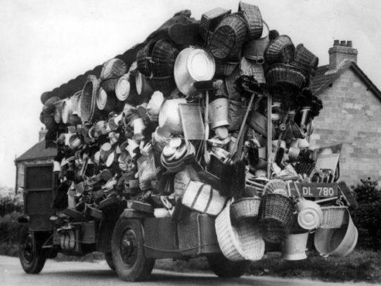 Peddler's Car, the Netherlands, 1930
