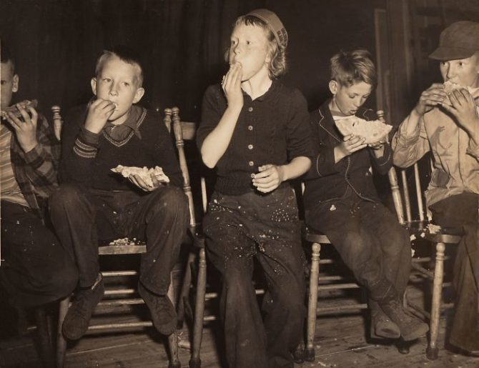 The Pie Eating Contest, 1950