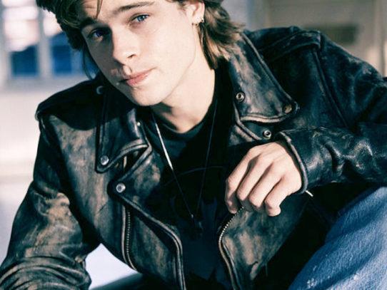 Brad Pitt at the beginning of his career, 1988