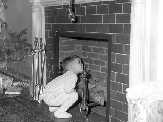 Waiting for Santa, 1950s