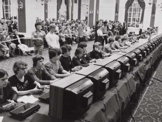 The Space Invaders championship, 1981