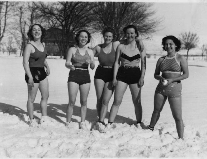 Snow, Sun and Fun, Weiser, Idaho, 1936