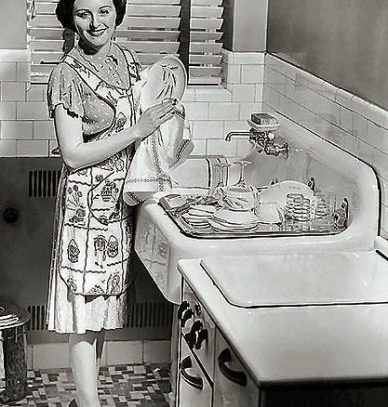 A housewife from 1950s