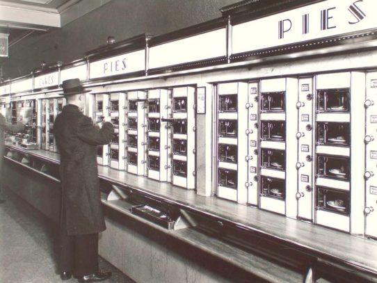 Pie Automat, New York, 1936
