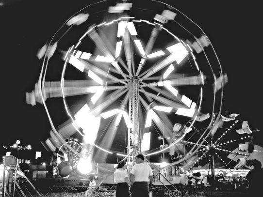 Ferris wheel, Oregon State Fair, 1940s
