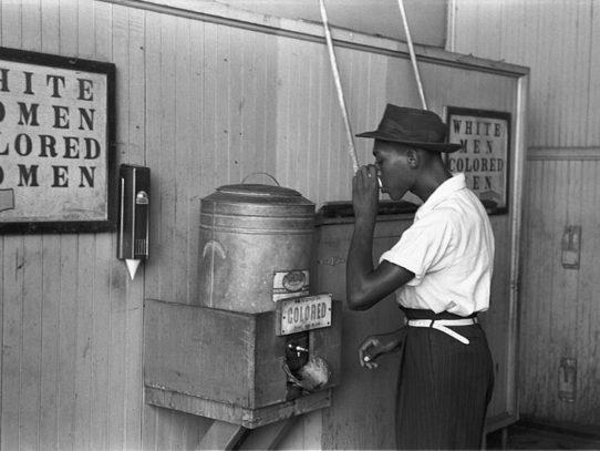 Segregated Drinking Fountain, Oklahoma City,  1939