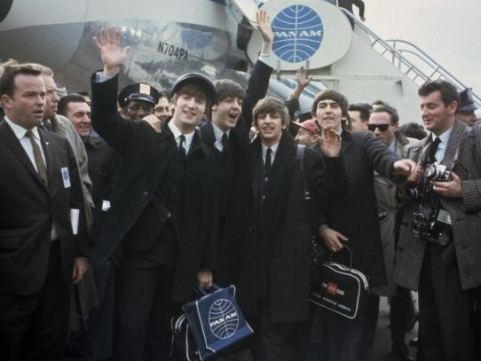 The Beatles Arrive at New York, 1964