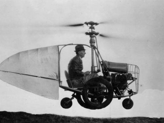 Jess Dixon's Flying Automobile, Alabama, circa 1940