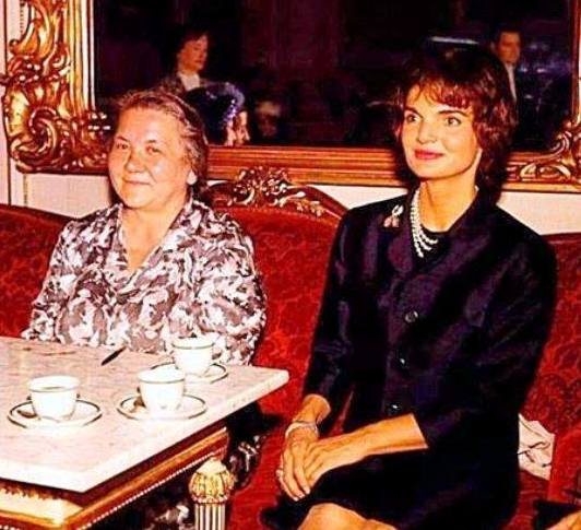 First ladies of the US and the USSR, 1961
