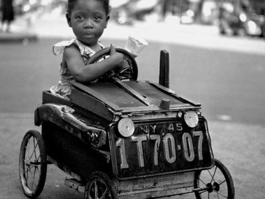 Little Girl in Car, New York, 1947