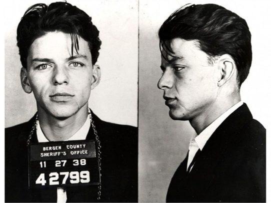 Frank Sinatra's Arrest, New Jersey, 1938