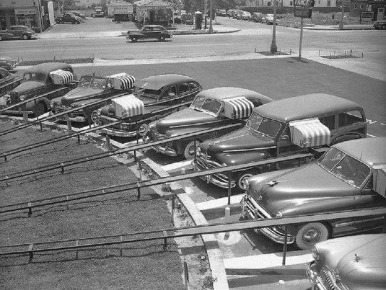 "Automated Drive-In ""The Track"", Los Angeles, 1949"