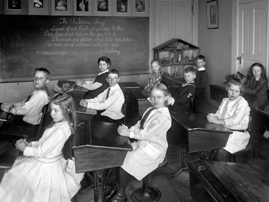 Kids at School, Washington, D.C., circa 1910