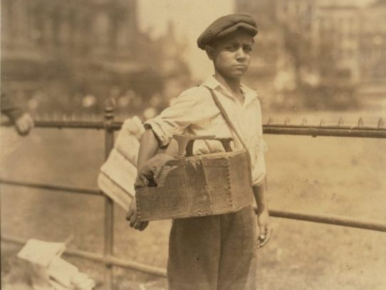 Shoeshine Boy, New York City, 1924