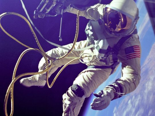 First American Spacewalker Edward White on June 3, 1965