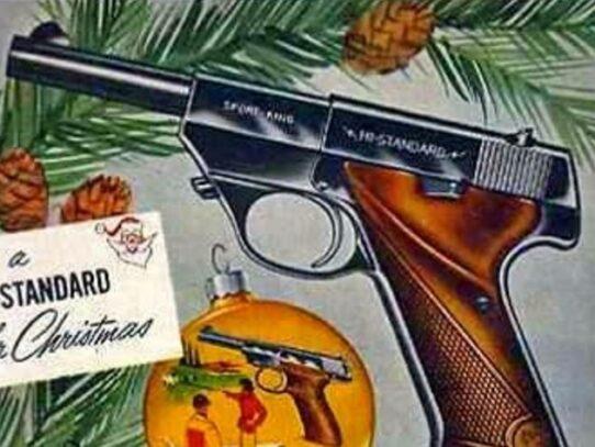 Vintage gun ads