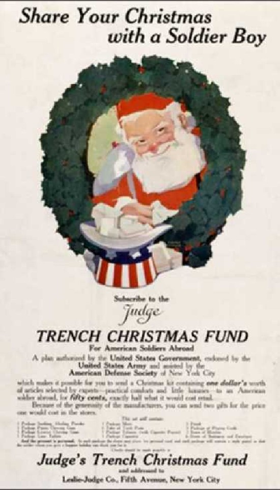 Christmas WWI promotion