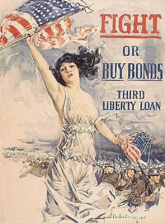 Buy bonds, 3rd liberty loan advertisement