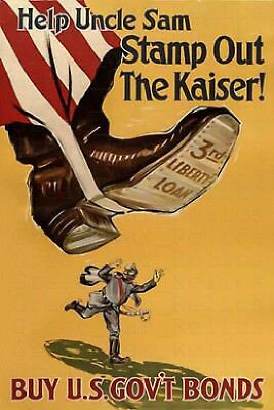 WWI Kaiser US propaganda