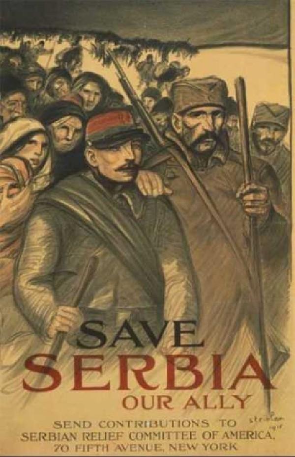 vintage WWI poster