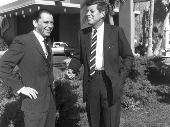 Historic friendship of Frank Sinatra and John F. Kennedy