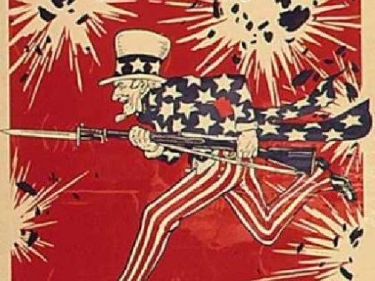 US WWI propaganda posters
