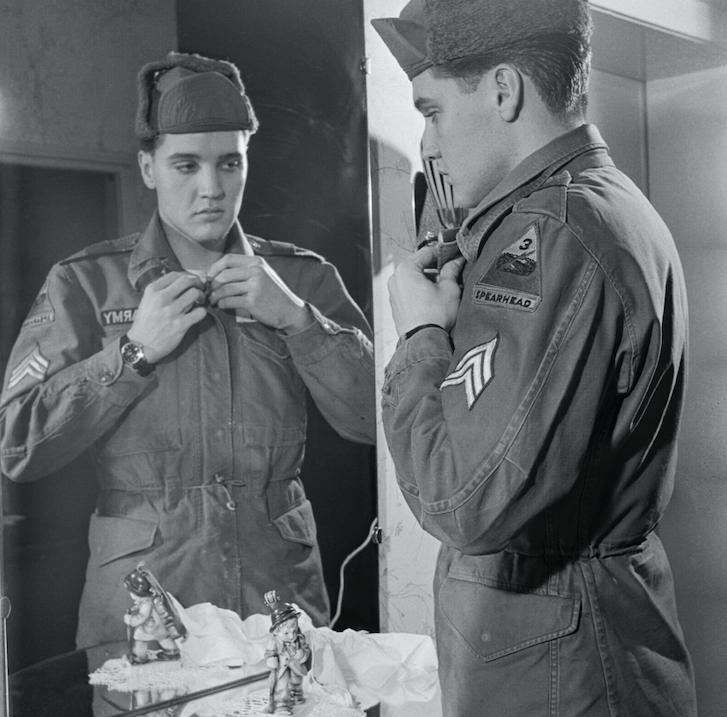 Elvis Presley is inducted into the U.S. Army - Bowie News