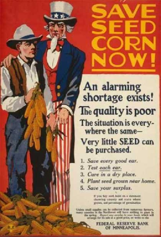 save corn seeds propaganda