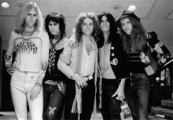 Aerosmith, history photo