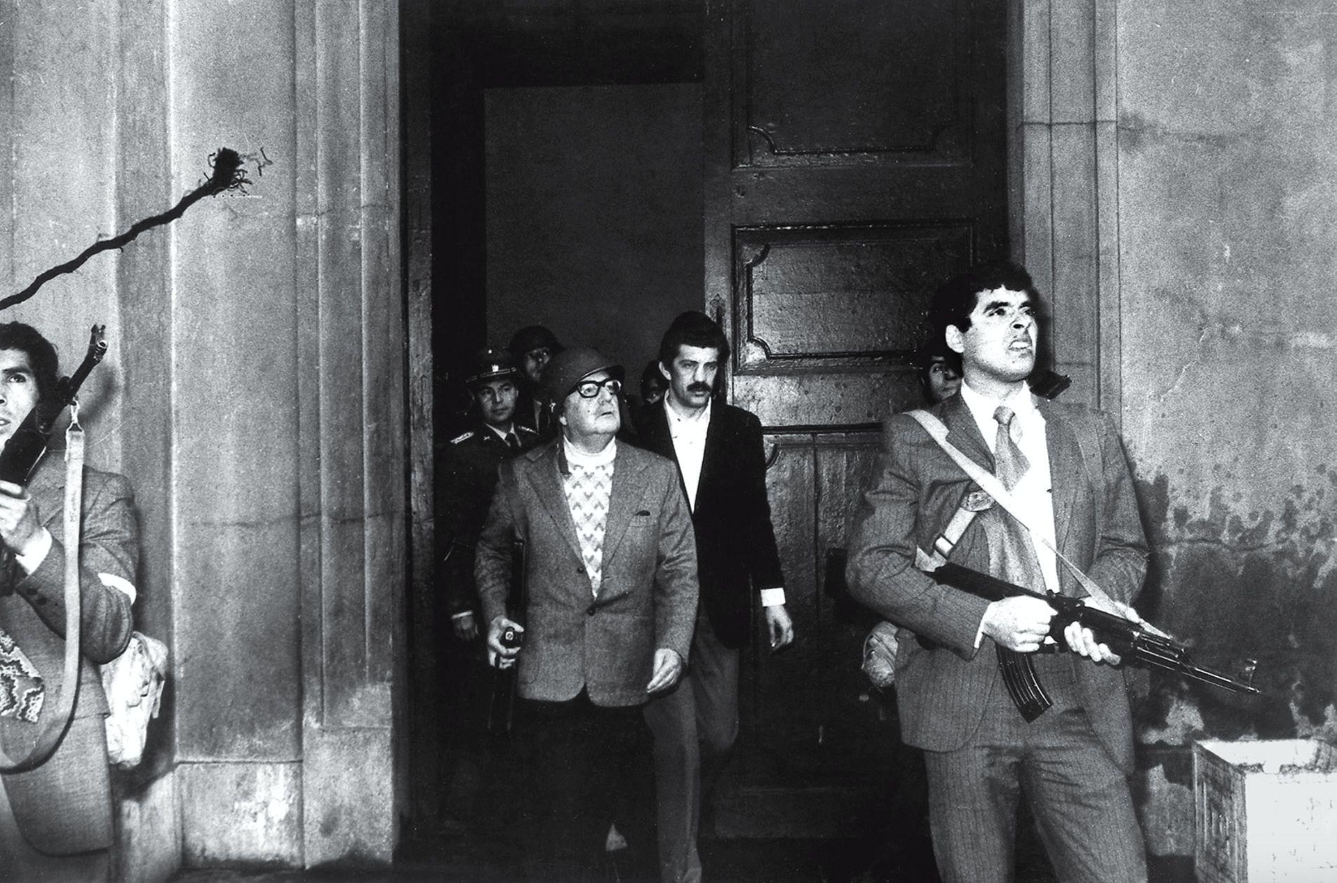Salvador Allende's Last stand photo