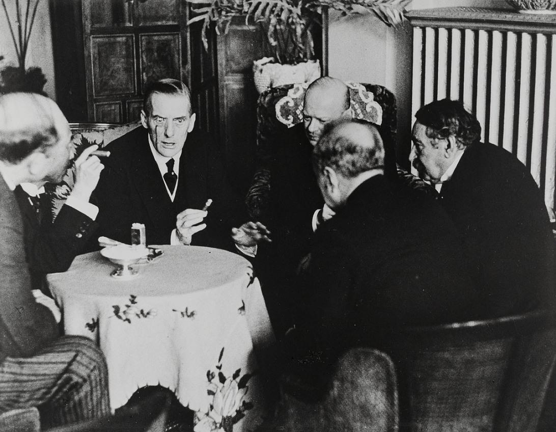 Austen Chamberlain , 1928