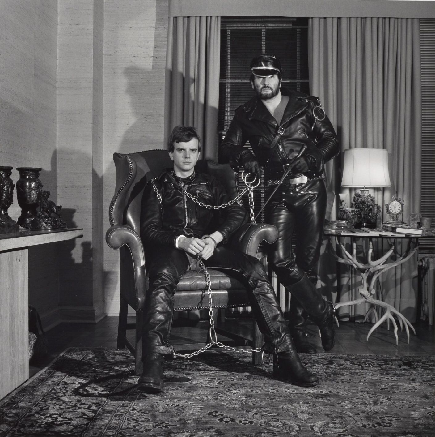 Brian-Ridley-And-Lyle Heeter  by Robert Mapplethorpe