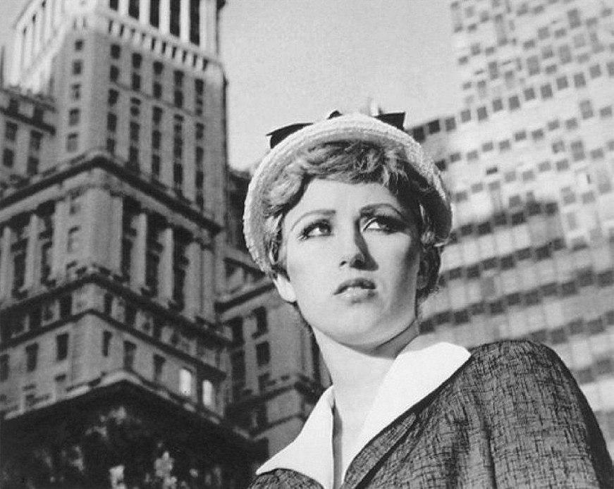 Cindy Sherman (21) as a City girl
