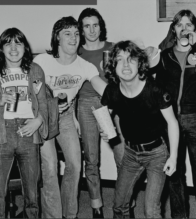 Early AC\DC photo