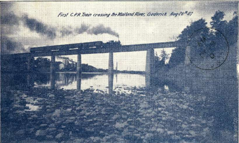 Canadian Pacific Railway first train